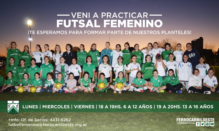 Fútbol femenino en Ferro
