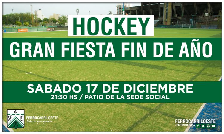 La fiesta de hockey