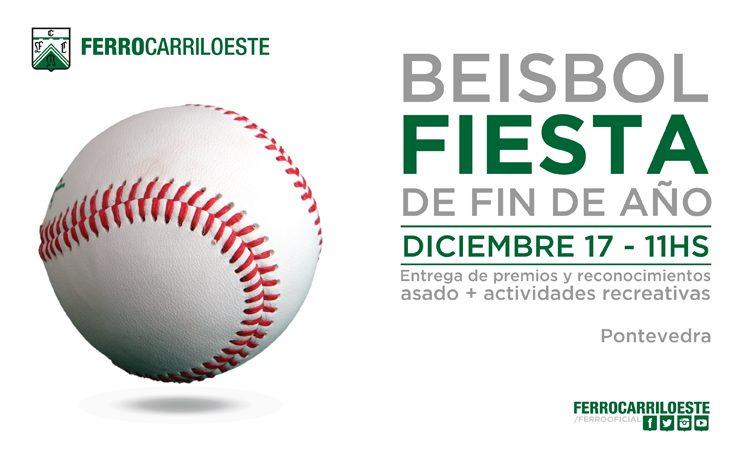 El béisbol también festeja