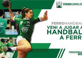 Jugá al handball en Oeste