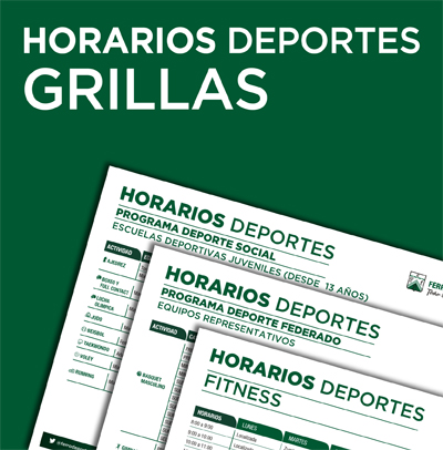 horarios grillas deportes