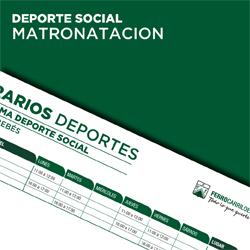 Deporte Social Matronatacion