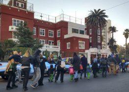 La escuela celebró el Día de la Bandera