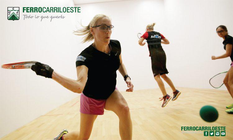 Nuevas clases de racquetball