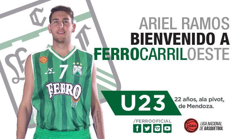Ferro sumó a Ariel Ramos