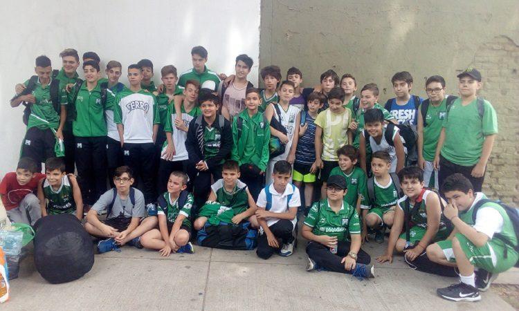 Los chicos a Mar del Plata