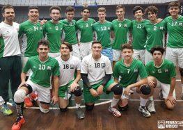 Los chicos ante Italiano
