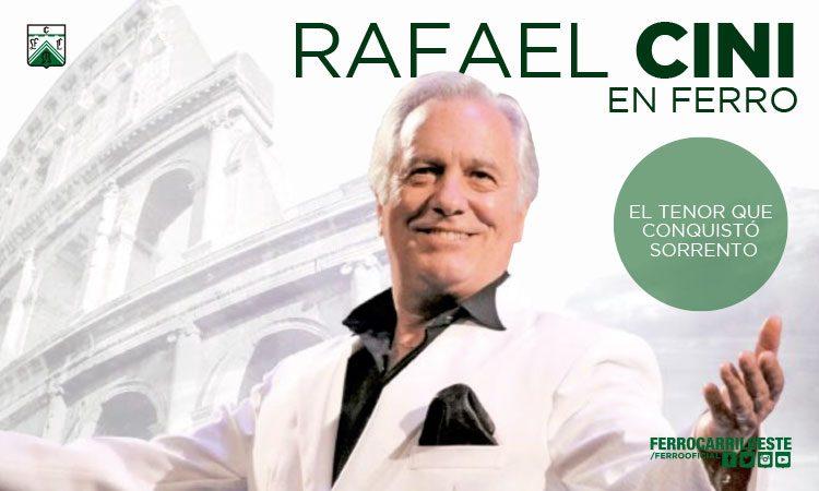Cena show con Rafael Cini